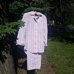 Classic Striped PJ Set by Ralf Lauren